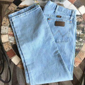 WRANGLER | Men's Bleach Wash Jeans 38x30